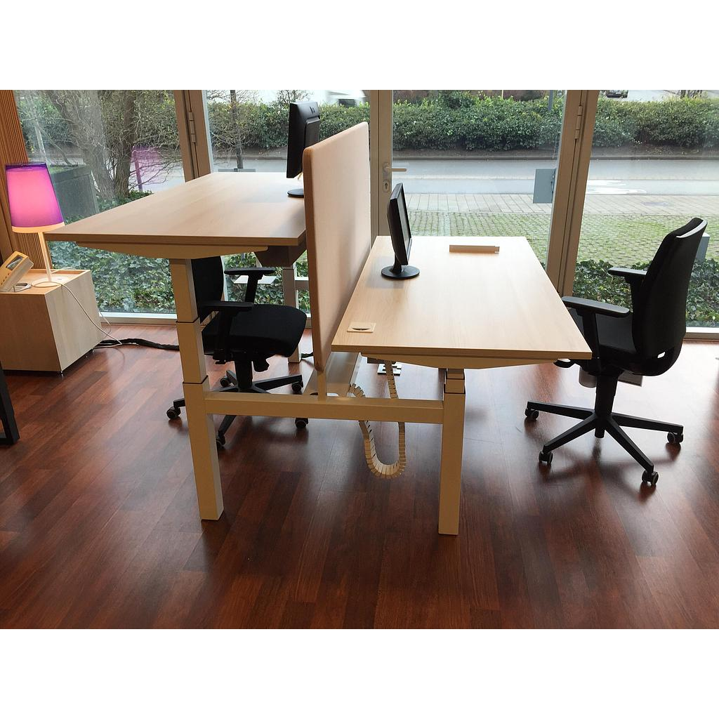 Bureau bench E Model 160x170x65-131cm*